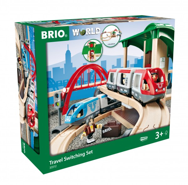 BRIO 33512 Großes BRIO Bahn Reisezug - Set