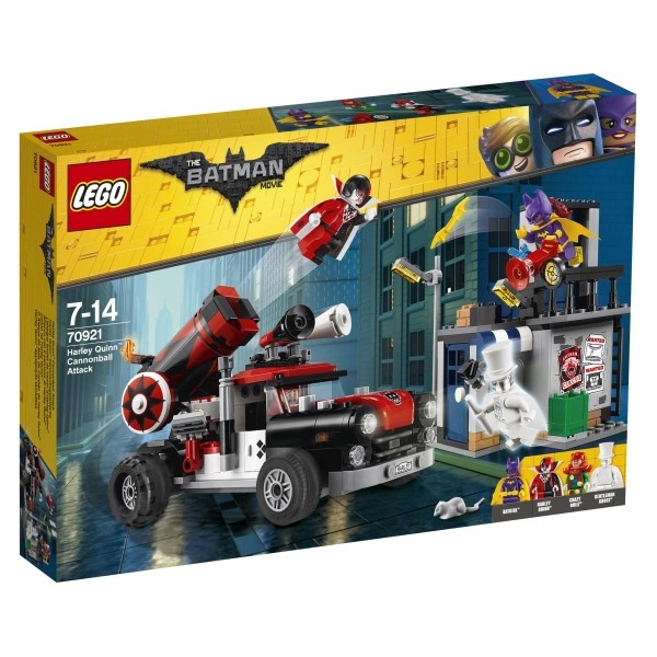 The LEGO® Batman Movie™ 70921 Harley Quinn™ Kanonenkugelattacke, 425 Teile