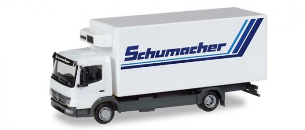 """HERPA 308540 Mercedes-Benz Atego Kühlkoffer-LKW """"Spedition Schumacher"""""""