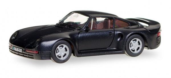 """HERPA 028684 Porsche 959 """"Herpa-H-Edition"""" (mit Kennzeichenbedruckung)"""