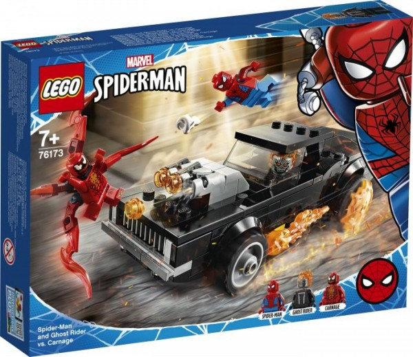 LEGO® Marvel Super Heroes# 76173 Spider-Man und Ghost Rider vs. Carnage