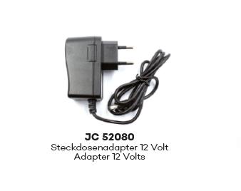 JC52080 230 Volt Netzadapter auf 12 Volt 1:87 EU