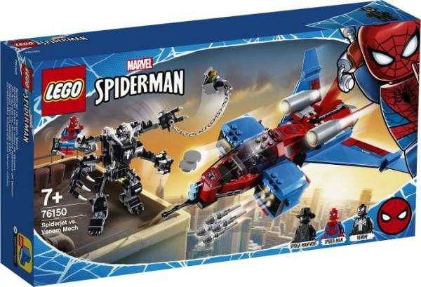 LEGO® Marvel Super Heroes# 76150 Spider-Men Spiderjet vs. Venom Mech