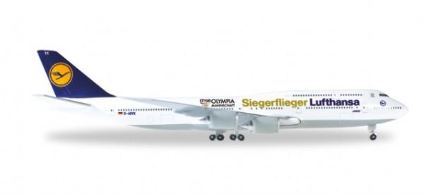"""HERPA 530026 Boeing 747-8 Intercontinental Lufthansa """"Siegerflieger Olympia Rio 2016"""""""