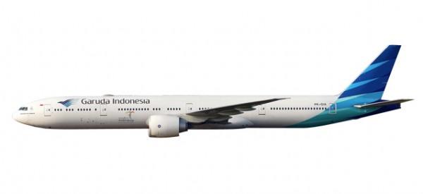 HERPA 611169 Garuda Indonesia Boeing 777-300ER