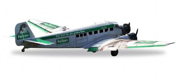 "HERPA 019347 Ju-Air Junkers Ju-52 ""Brauerei Falken"" – HB-HOP"