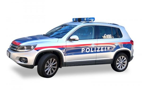 HERPA 931588 VW Tiguan - Polizei Österreich