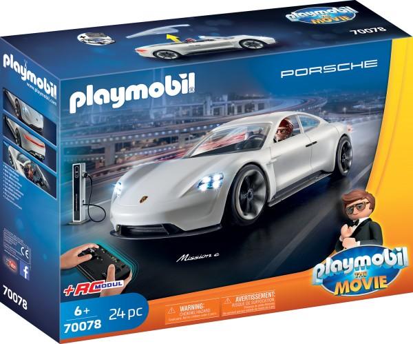 PLAYMOBIL® 70078 THE MOVIE Rex Dasher's Porsche Mission E
