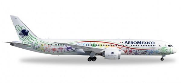 "HERPA 558389 Boeing 787-9 Dreamliner Aeromexico ""Quetzalcóatl"""