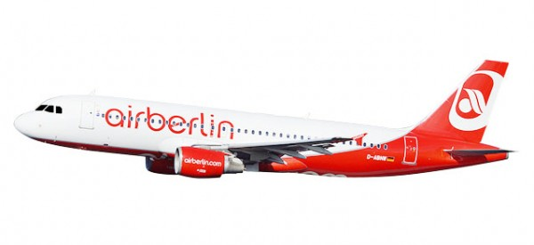 "HERPA 611923 Airberlin Airbus A320 ""Last Flight"" - D-ABNW"