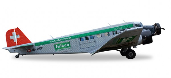 "HERPA 019347-001 Junkers Ju-52 Ju-Air ""Brauerei Falken"" (new colors)"