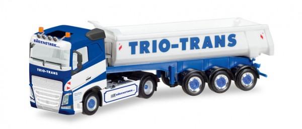 """HERPA 308533 Volvo FH Rundmulden-Sattelzug """"Trio-Trans"""""""
