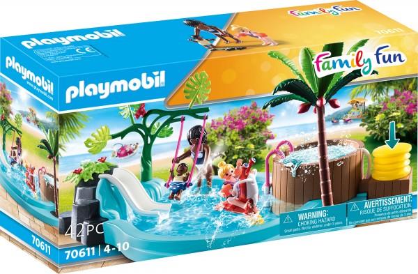 PLAYMOBIL® 70611 Kinderbecken mit Whirlpool