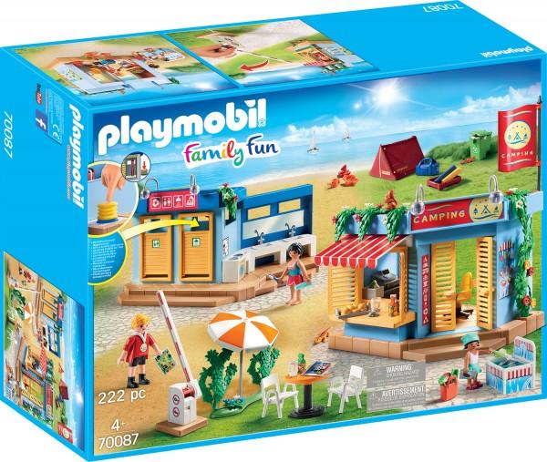 PLAYMOBIL® 70087 Großer Campingplatz