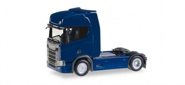 HERPA 307109 Scania CR 20 HD Zugmaschine, dunkelblau