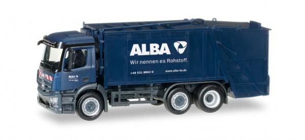 """HERPA 306966 Mercedes-Benz Antos Pressmüllwagen """"Alba"""""""