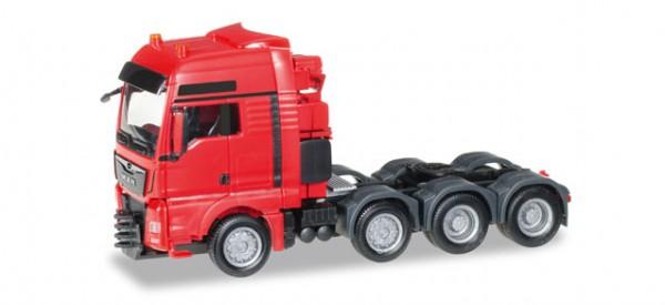 HERPA 304375-002 MAN TGX XXL 640 Euro 6 Schwerlastzugmaschine, rot