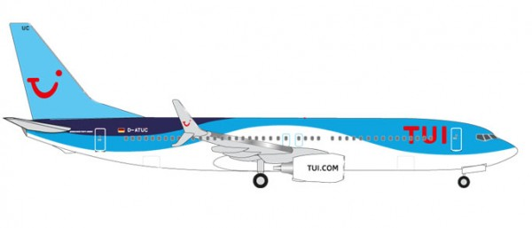 HERPA 526692-002 TUIFly Boeing 737-800 (new 2014 colors)