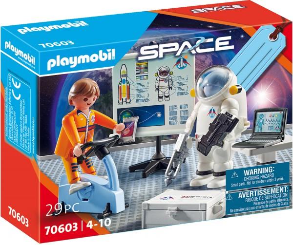 "PLAYMOBIL® 70603 Geschenkset ""Astronautentraining"""