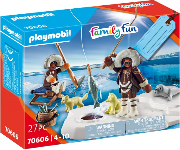 """PLAYMOBIL® 70606 Geschenkset """"Eisangler"""""""