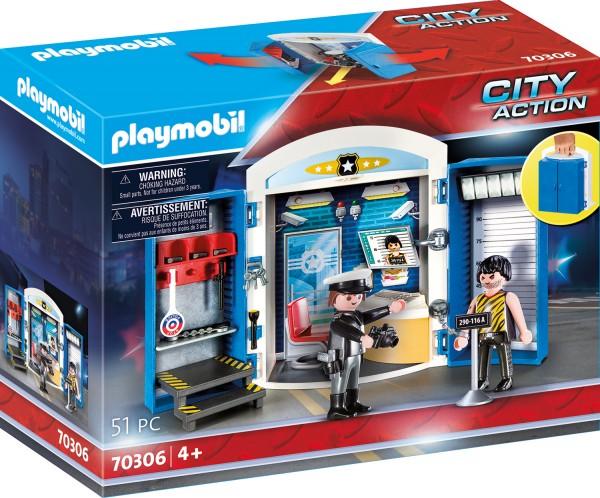 """PLAYMOBIL® 70306 Spielbox """"In der Polizeistation"""""""