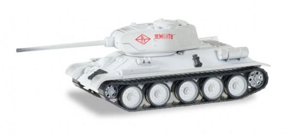 """HERPA 745796 Kampfpanzer T34/85 Wintertarnung """"Kampf um Leningrad 1944"""""""