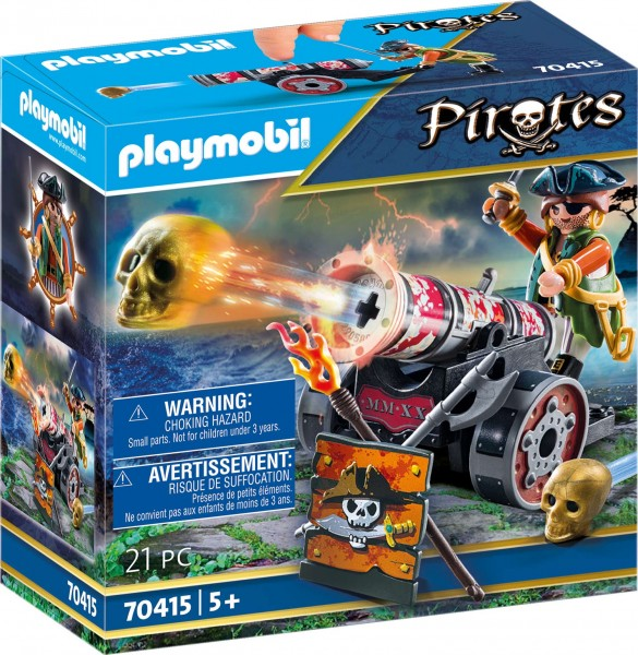 PLAYMOBIL® 70415 Pirat mit Kanone