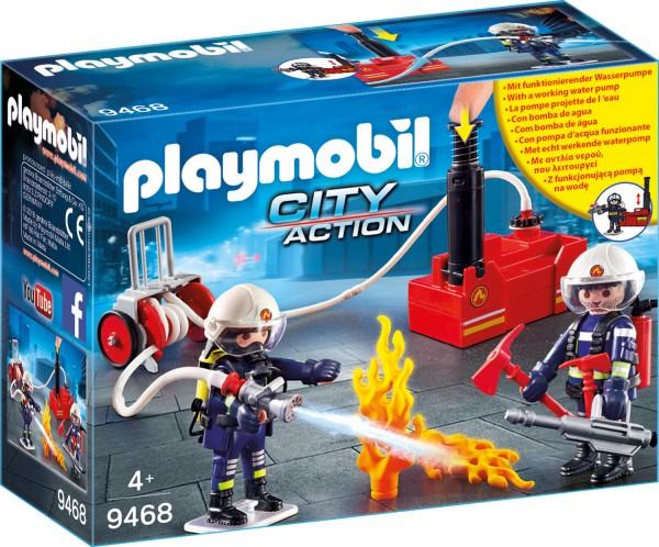 PLAYMOBIL® 9468 Feuerwehr-Männer mit Löschpumpe