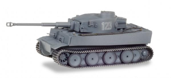 HERPA 745970 Panzerkampfwagen Tiger Ausf. H1, dekoriert, Russland (Nr. 123)