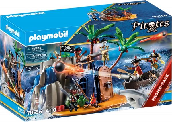 PLAYMOBIL® 70556 Pirateninsel mit Schatzversteck