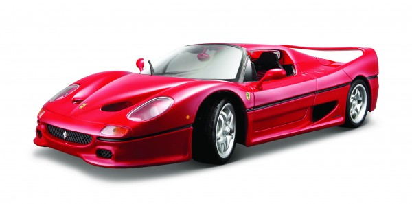 Bburago 18-16004R Ferrari F50 Modell 1:18