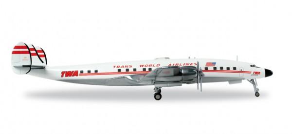 HERPA 558372 Lockheed L-1649A Jetstream TWA Trans World Airlines