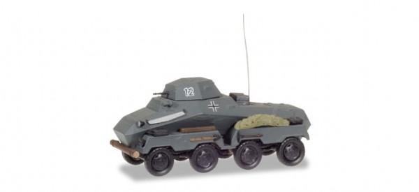 """HERPA 745918 Sd.Kfz 231 schwerer Panzerspähwagen """"Wehrmacht"""""""