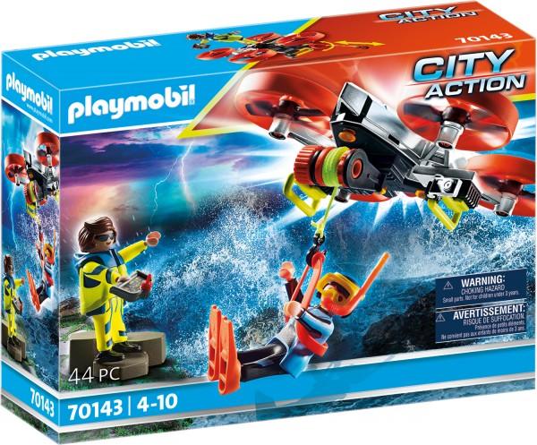 PLAYMOBIL® 70143 Seenot: Taucher-Bergung mit Rettungsdrohne
