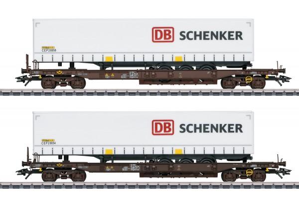 """Märklin 47110 Taschenwagen-Set """"DB Schenker"""""""