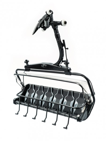 JC86505 6er Sessel D-Line schwarz/grau