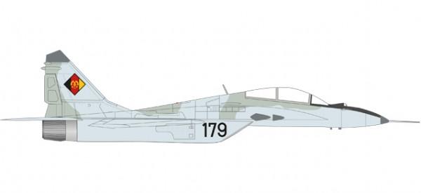 """HERPA 580267 NVA/LSK (East German Air Force) Mikoyan Gurevich MiG-29UB - Jagdfliegergeschwader 3 """"W"""