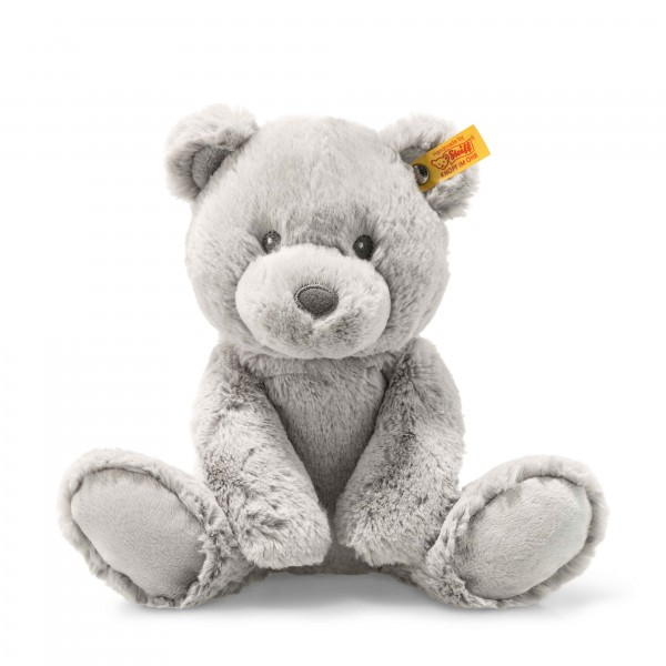 STEIFF 241543 Soft Cuddly Friends Bearzy Teddybär 28 cm grau