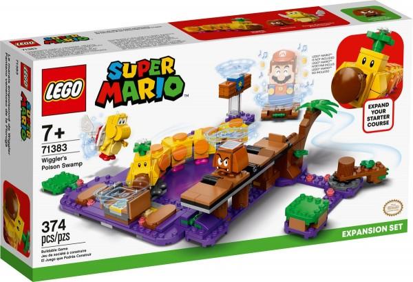 LEGO® Super Mario 71383 Wigglers Giftsumpf - Erweiterungsset