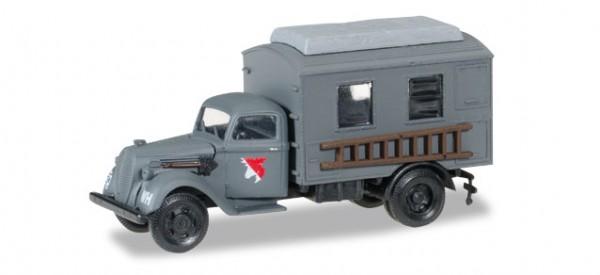 HERPA 745635 Ford 997 Koffer-LKW Leitung Fernmeldebatallion XXI. Armeekorps der Wehrmacht