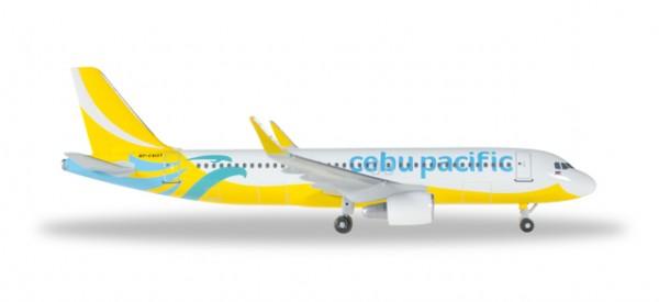 HERPA 529327 Cebu Pacific Air Airbus A320 - new 2016 colors