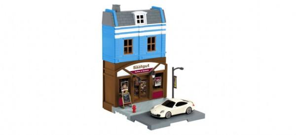 Herpa City: Bäckerei mit Porsche 800013